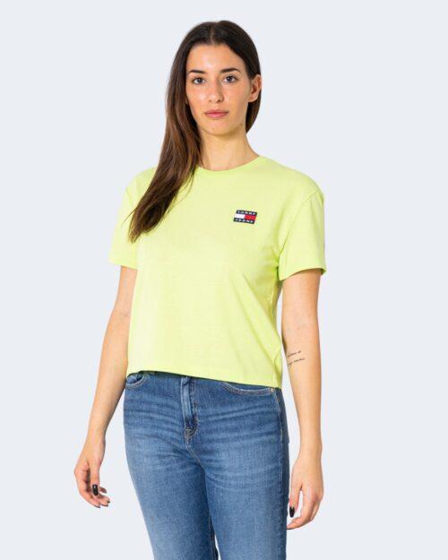 T-shirt Tommy Hilfiger Jeans - Verde - Foto 1
