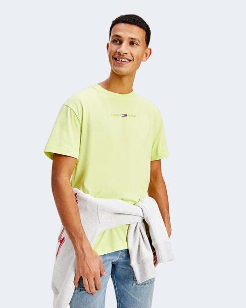 T-shirt Tommy Hilfiger GEL LINEAR Verde ice – 64873