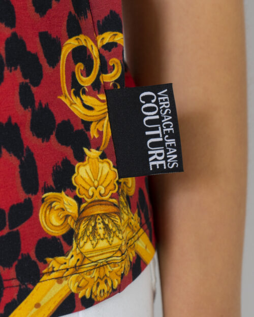 T-shirt Versace Jeans Couture STAMPA LOGO Nero - Foto 3