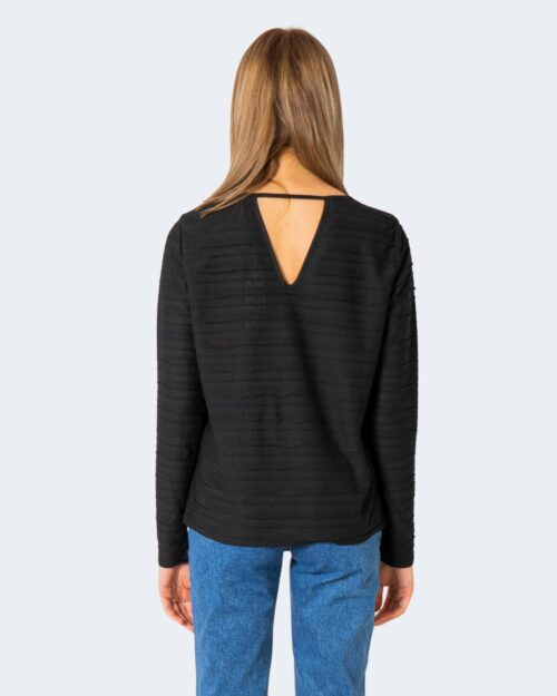 T-shirt manica lunga Only KELLY Nero - Foto 3