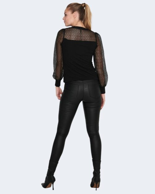 T-shirt manica lunga Only L/S PUFF MIX TOP JRS Nero – 63428