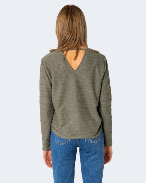 T-shirt manica lunga Only KELLY Verde – 63425