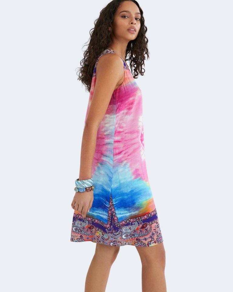 Vestito corto Desigual NANA Rosa - Foto 1