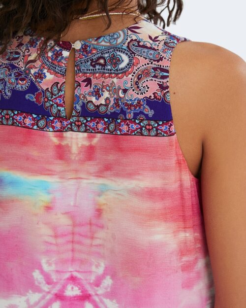 Vestito corto Desigual NANA Rosa - Foto 4