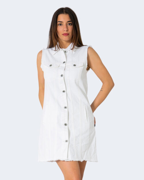 Vestito corto One.0 BOTTONI Bianco – 71468
