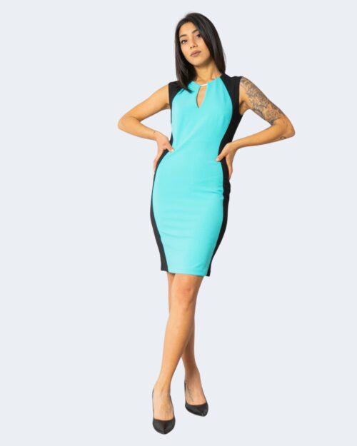 Vestito corto Rinascimento – Verde ice – 71577