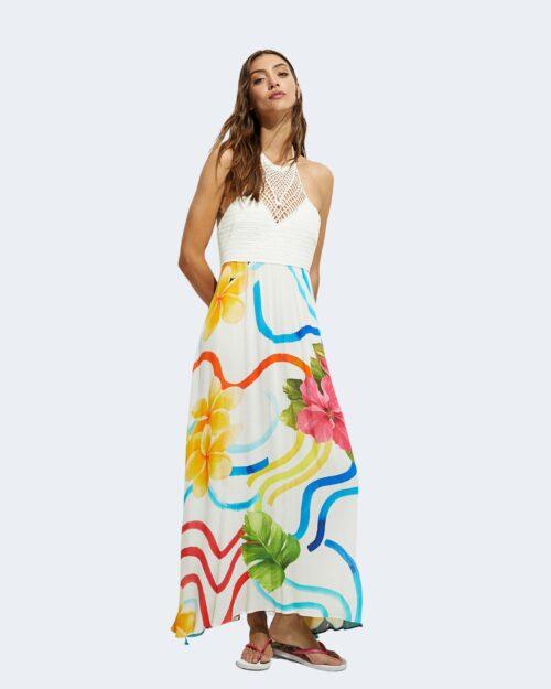 Vestito lungo Desigual SAONA Bianco – 65716