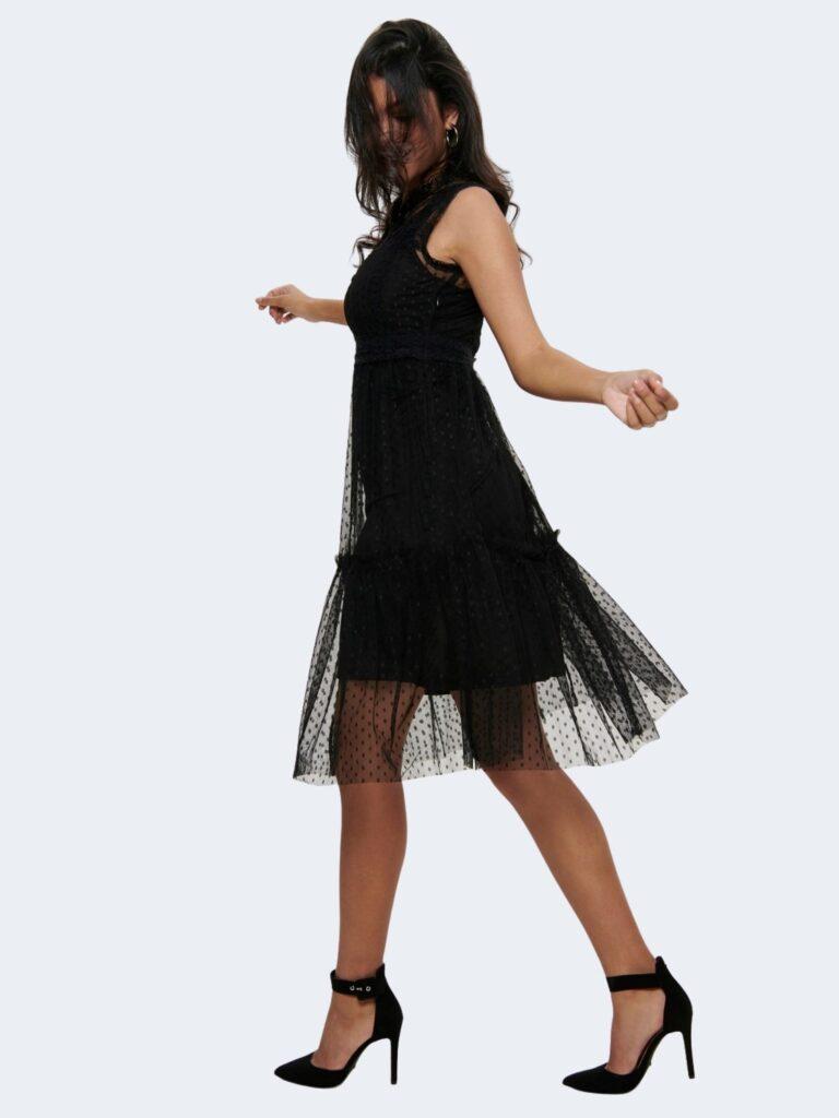 Vestito corto Jacqueline de Yong LINE Nero - Foto 2