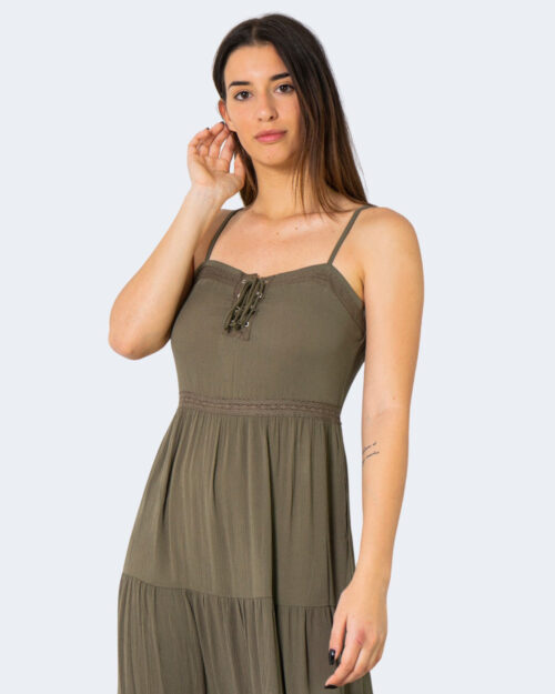 Vestito midi Jacqueline De Yong IRIS Verde Oliva – 63270