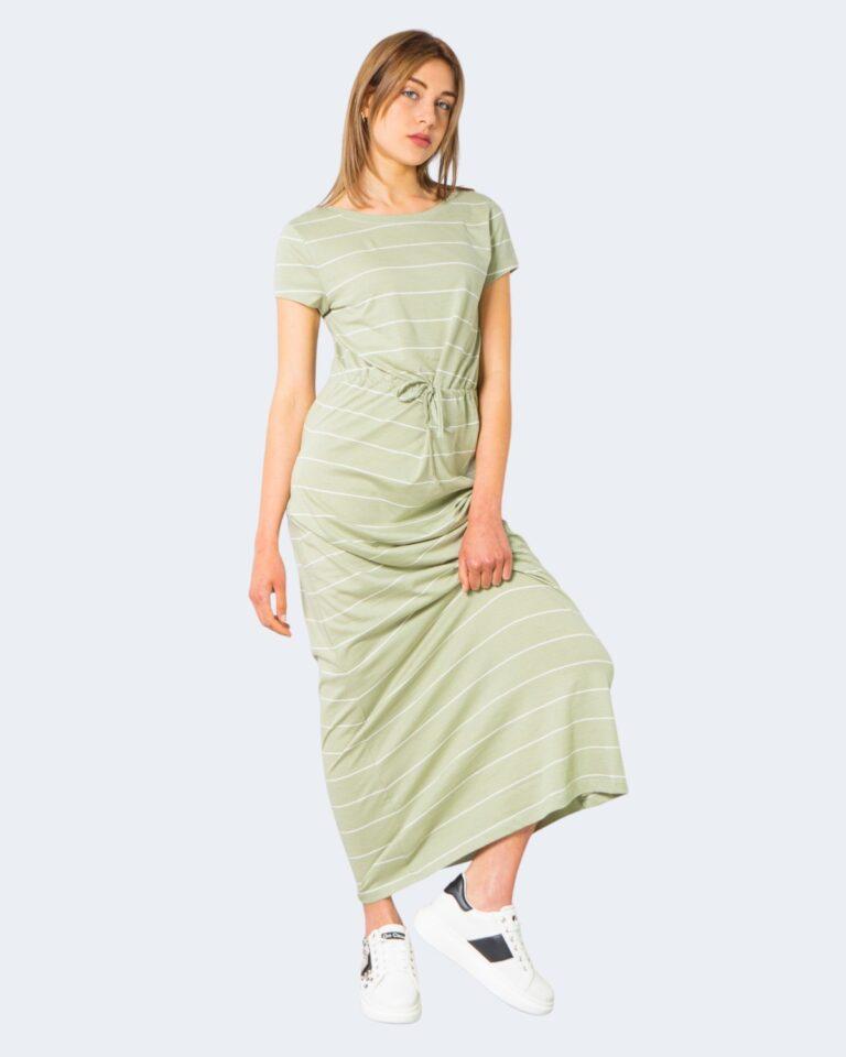 Vestito midi Only - Verde - Foto 1