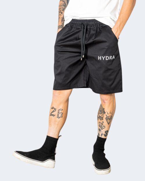 Shorts Hydra Clothing TINTA UNITA Nero – 72920