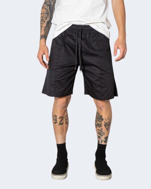 Shorts Hydra Clothing TINTA UNITA Nero – 72921