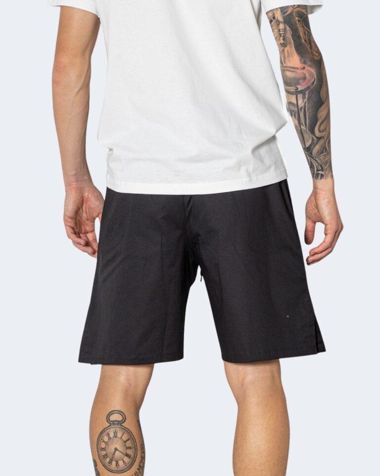 Shorts Hydra Clothing TINTA UNITA Nero - Foto 3