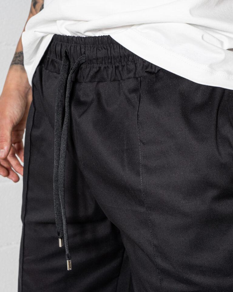 Shorts Hydra Clothing TINTA UNITA Nero - Foto 4