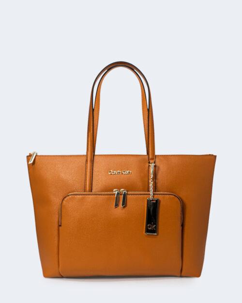 Borsa Calvin Klein SHOPPER Cuoio – 71713
