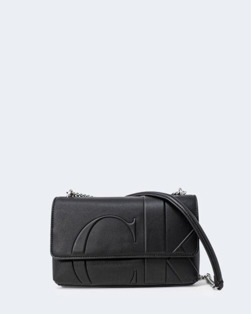 Borsa Calvin Klein FLAP CONVERTIBLE Nero – 72811