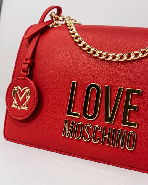 Borsa Love Moschino BONDED LOGO Rosso – 72399