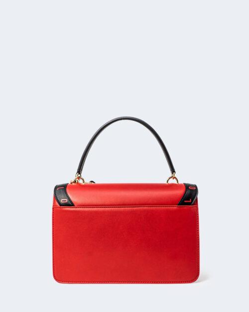Borsa Love Moschino STAMPA LOGO CENTRALE GRANDE Rosso – 72629