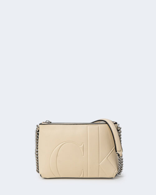 Borsa Calvin Klein CAMERA POUCH Beige – 72783