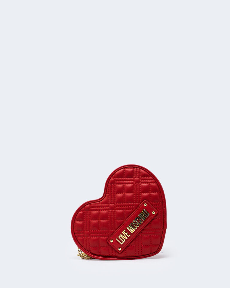 Borsa Love Moschino QUILTED CUORE Rosso - Foto 1