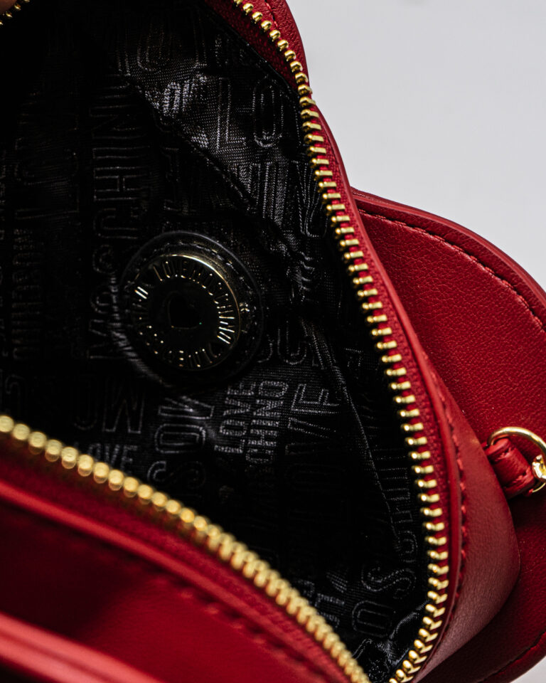 Borsa Love Moschino QUILTED CUORE Rosso - Foto 3