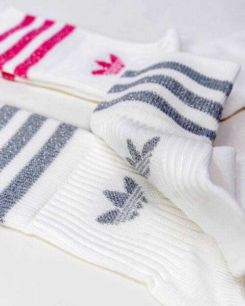 Calzini Adidas MID CUT GLT SCK Bianco – 72775