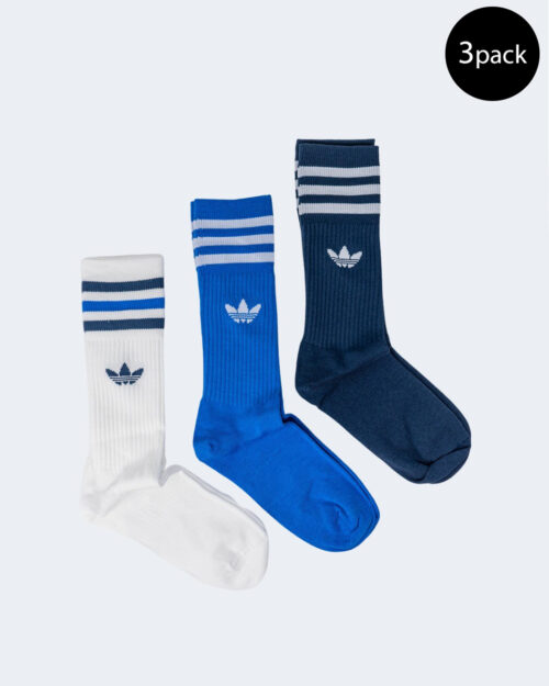 Calzini Adidas SOLID CREW SOCK Blu – 72750