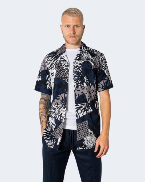 Camicia manica corta Only & Sons ANIMAL Bianco – 72915