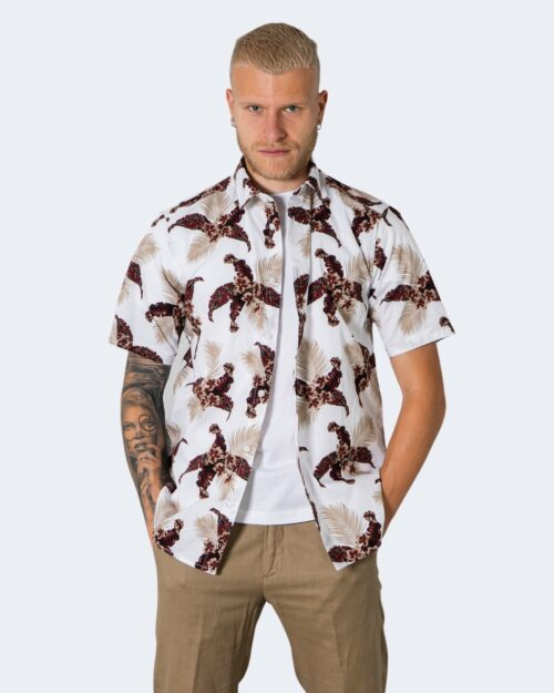 Camicia manica corta Only & Sons KALLE Bianco – 72918