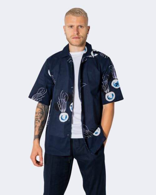 Camicia manica corta Only & Sons ONSKEYO LIFE SS RELAXED AOP SHIRT – 22019773 Blu – 63321