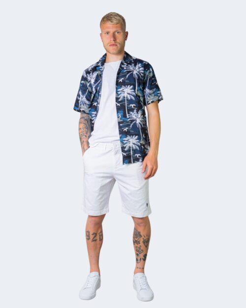 Camicia manica corta Only & Sons PALM Blu - Foto 2