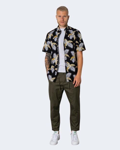 Camicia manica corta Only & Sons KALLE Nero – 72918
