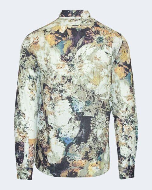 Camicia manica lunga Antony Morato STRAIGHT FIT FLOREALE Bianco - Foto 2