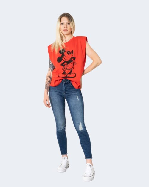 Canotta Only DISNEY Rosso – 63385