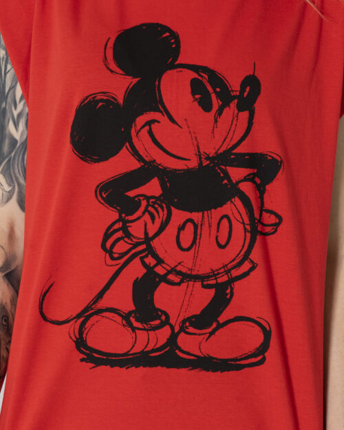Canotta Only DISNEY Rosso - Foto 4
