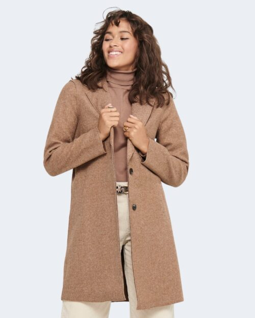 Cappotto Only CARRIE BONDED Marrone – 72803