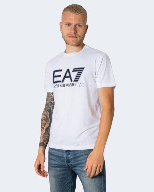 T-shirt EA7 - Bianco - Foto 1