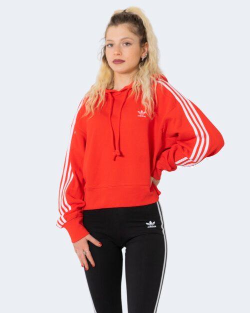 Felpa con cappuccio Adidas SHORT HOODIE Rosso – 72773