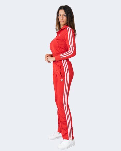 Felpa senza cappuccio Adidas FIREBIRD TT PB Rosso – 72691