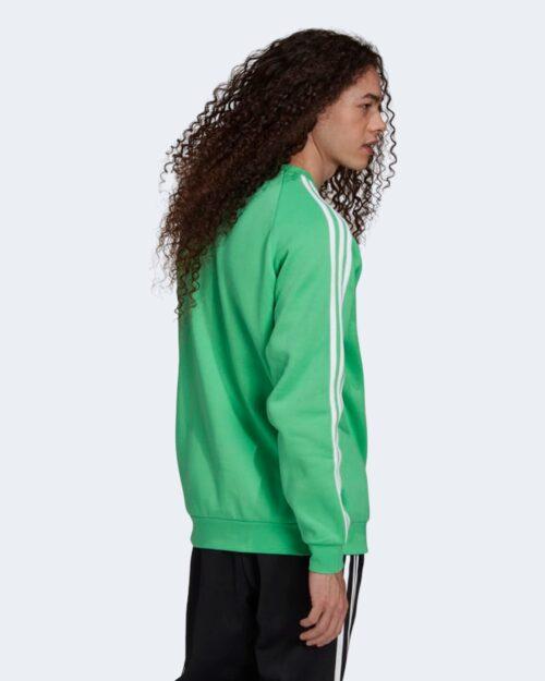 Felpa senza cappuccio Adidas 3-STRIPES CREW Verde – 72767