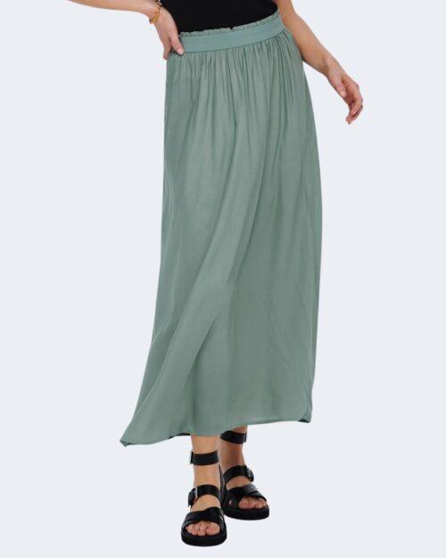 Gonna lunga Only Venedig Paperbag Long Skirt Wvn Noos Verde – 28539