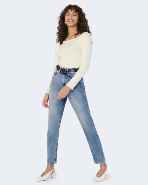 Jeans mom Only VENEDA Blue Denim Chiaro – 63291