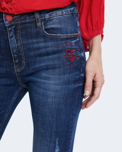 Jeans skinny Desigual DENIM KASANDRA Denim scuro – 65300