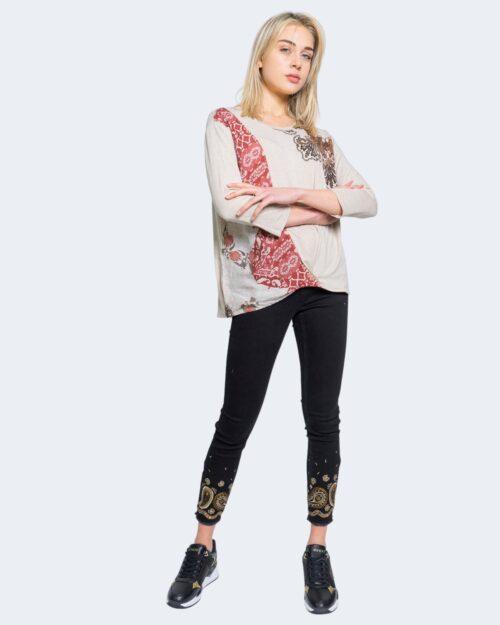 Jeans skinny Desigual BELGICA Nero – 65264