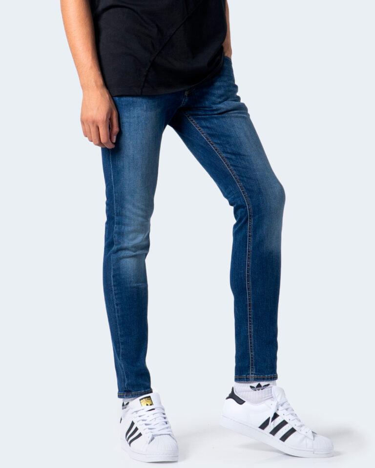 Jeans skinny Jack Jones LIAM Denim scuro - Foto 1