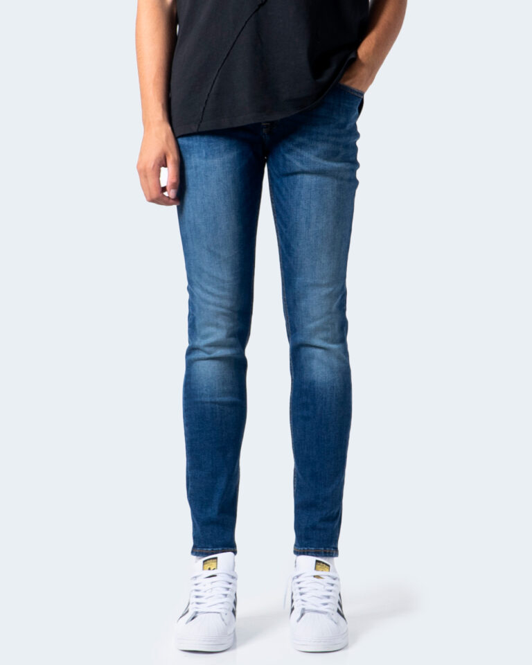 Jeans skinny Jack Jones LIAM Denim scuro - Foto 2