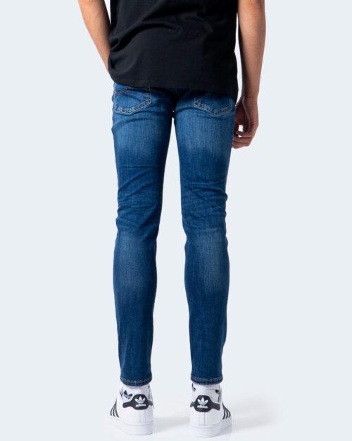 Jeans skinny Jack Jones LIAM Denim scuro - Foto 3