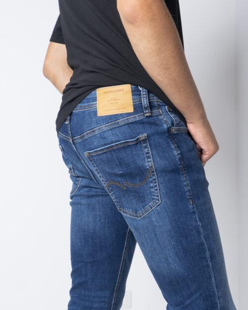 Jeans skinny Jack Jones LIAM Denim scuro - Foto 4