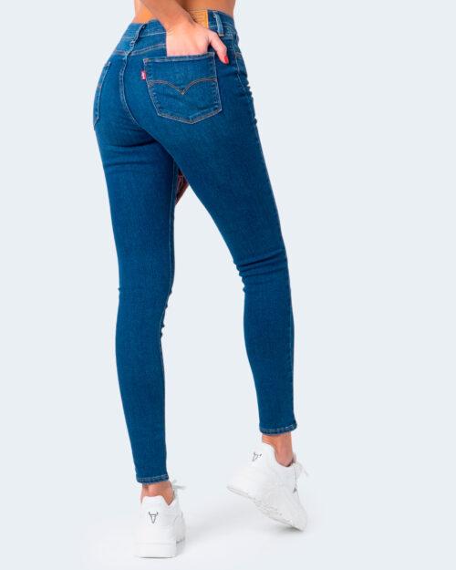 Jeans skinny Levi's® 720 HIRISE FIERY ISLAND WARM Denim – 58718