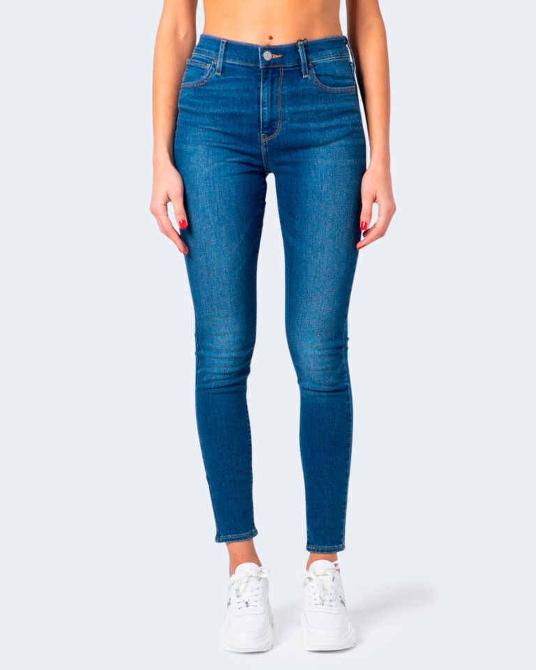 Jeans skinny Levi's® 720 HIRISE FIERY ISLAND WARM Denim - Foto 2